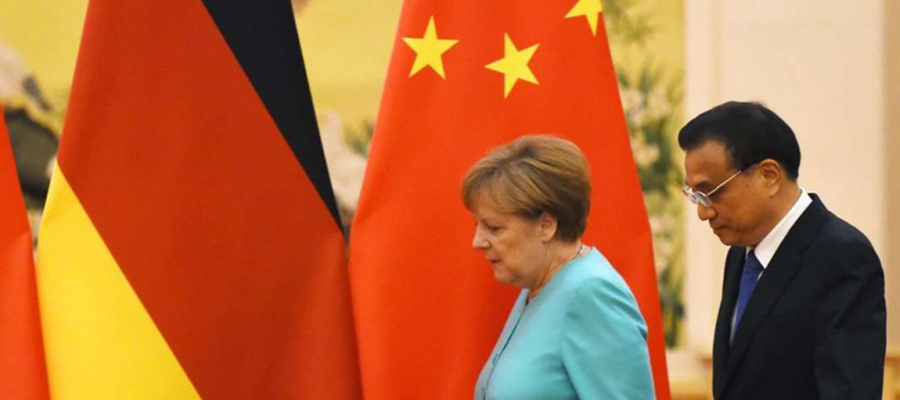 German visit to China