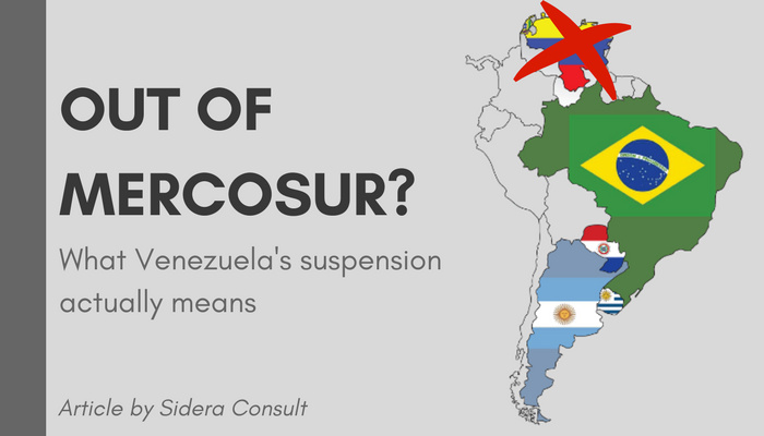 Out of Mercosur? What Venezuela's suspension actually means